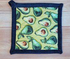 Pot Holders - Avocados