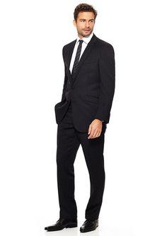 On ideeli: BEN SHERMAN Striped Slim Fit Suit