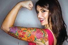 Tattoo Idea!  Beautiful color