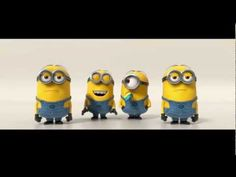 Minions Banana Song--Me and my kids have watched this like 20 times!  Still laughing!!