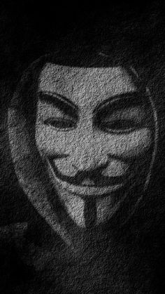 Anonymous Wallpaper for Iphone Download Free.