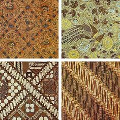 Batik is one of the most popular clothes and accessories in Indonesia. I love batik clothes, because it's perfectly design, it's beautiful and. Indonesian Wedding, Indonesian Art, Batik Art, Batik Prints, Traditional Fabric, Traditional Art, Traditional Clothes, Textile Patterns, Cool Patterns