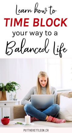 This one simple time blocking hack is the time management tool that will help you increase your productivity 1000%! I use this trick every day which helps me schedule more quality time for other important things in life like family and self care. I share how you can get started with 3 simple tips to begin! #organizing #timemanagement #productivity #balance #balancedlife #timeblocking #timeblock