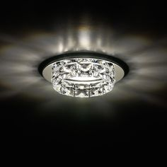 Ringlet Recessed Light by Swarovski