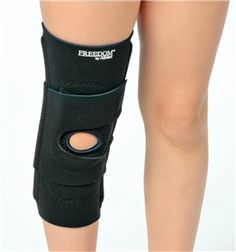 "AliMed® FREEDOM® Pediatric Patella Stabilizer with ""J"" Buttress. Recommended for correction of patellar malalignment. Also provides support and compression for a wide range of patella/femoral disorders. #orthopedics #pediatric"