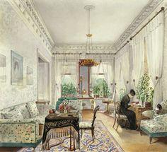 Painting by Tihobrazov N.