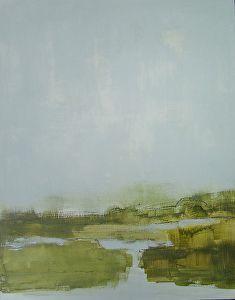 Spring Wetlands by Rachel Wiley Janota 14 x 11 by René Wiley Gallery  ~  x