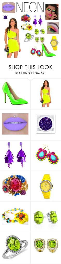 """""""Untitled #52"""" by sbc-fellows ❤ liked on Polyvore featuring Pleaser, Oscar de la Renta, Les Néréides, Jet Set, Blue Nile, Charles Krypell, men's fashion and menswear"""