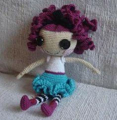 Quirky Artist Loft: Free Pattern: Crochet Lalaloopsy