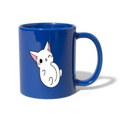 Geschenke Shop   süße katze - Tasse einfarbig Shirt Diy, Mugs, Carino, Tableware, Cat Art, Jokes, Funny, One Color, Dinnerware