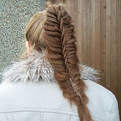 Pin for Later: 25 Chic Fishtail Ponytails That Will Cause Braid Envy