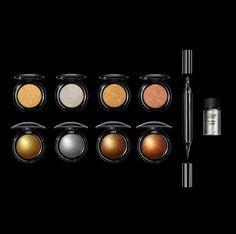 La nouvelle collection de maquillage de Pat McGrath Metalmorphosis 005 : les fards-à-paupières et l'eye-liner