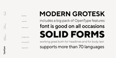 Check out the TT Norms font at Fontspring.