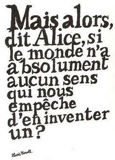 La verite d'Alice