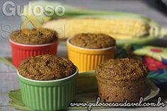 Quem vai fazer Muffins de Milho no Ramequim hoje? São perfeitos para incrementar o lanche!  #Receita aqui: http://www.gulosoesaudavel.com.br/2016/07/09/muffins-milho-ramequim/
