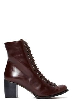 Jeffrey Campbell Ria Leather Boot   Shop Jeffrey Campbell at Nasty Gal
