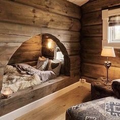 Rustic wood interior: Guarantee of warmth and well-being in a neighboring house . - Rustic wood interior: Guarantee of warmth and well-being in a neighboring house – # Check more - Interior Design Trends, Design Ideas, Cabin Interior Design, Chalet Interior, Chalet Design, Farmhouse Interior, Interior Modern, Luxury Interior, Design Design