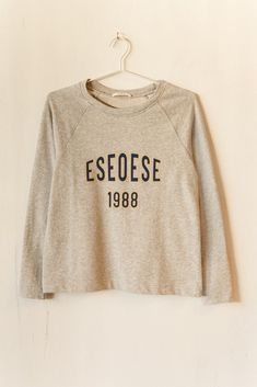 Ese O Ese Felpa College Sweater