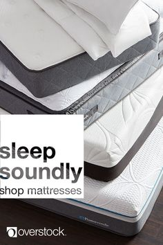 Better sleeps starts with a new mattress. Shop top selling mattresses in memory foam, innerspring, pocket coil, and more at the lowest prices. Overstock.com -- All things home. All for less.