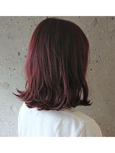 Hair Inspo, Hair Inspiration, Wine Hair, Hair Arrange, Hair Color Purple, Dye My Hair, Winter Hairstyles, Grunge Hair, Short Hair Styles