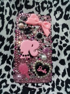 IPhone Case - Barbie - custom designed cell phone cases ANY style of case.       www.facebook.com/CrystallizedBLING