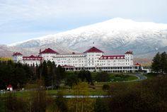 The Mt. Washington Hotel, Bretton Woods, NH.