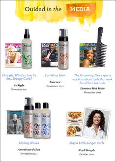 Editors are buzzing about Ouidad products! Check out their favorites...