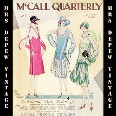 d55c05f77a9a5 McCall Quarterly Summer 1926 E-book sewing pattern catalogue from the  1920 s at mrsdepew.