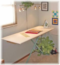 portable ironing board for quilting