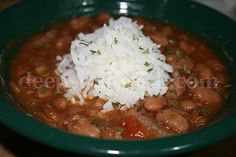 Ranch Beans, also known as Chuck Wagon Beans, made with pintos and slow cooked with a slight southwestern twist, were once known as husband pleasin beans in their popular commercial form.