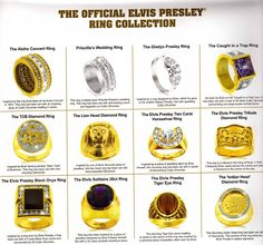 {*Some ov Elvis's rings*}