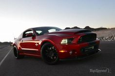 Shelby Mustang   2013 Ford Mustang Shelby GT500 Super Snake Wide Body - Top Speed