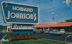 Wheaton MD 1960 | ... Apple Pie ice cream at the Wheaton, Maryland Howard Johnson's