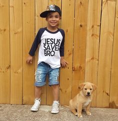 Riley Clay Designs/Jesus Saves Bro tee