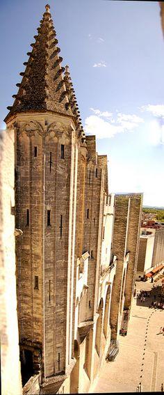 Palace Walls - Avignon, France