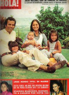 Isabel Preysler & Julio Iglesias Family