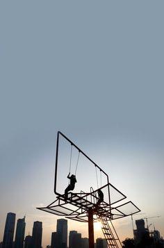 billboard. urban playground by Didier Fiuza Faustino