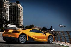 2012 GTA Spano. 0-60 in 2.9 seconds.