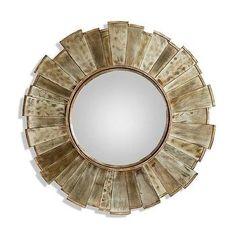 Kloss Starburst Gold Mirror