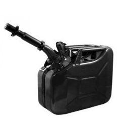 Black 2.6 Gallon Fuel Can