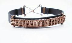 Men's wire wrapped bracelet  Made by Margarita Velinova