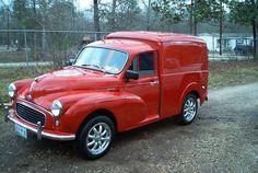 1959 Morris Minor Van : Registry : The Morris Minor Forum Hot Rod Trucks, Big Trucks, Pickup Trucks, Classic Cars British, British Car, Morris Traveller, Customised Trucks, Cool Old Cars, Morris Minor