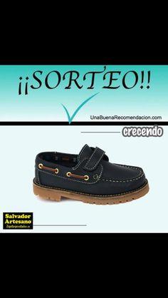 Recordamos #SORTEO. Hazte con estos Crecendo shoes (@CrecendoShoes) en tallas 28 a 39. Participa y pueden ser tuyos ¡SUERTE! Salvador Artesano. Zapatosparatodos.es