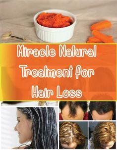 Miracle Natural Treatment for Hair Loss