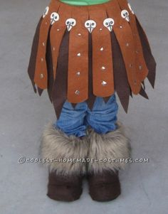 Astrid: Viking Dragon Warrior Costume Homemade for Preschool Age ... This website is the Pinterest of costumes