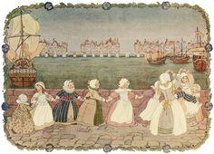 London Bridge is Broken Down by Henriette Willebeek Le Mair