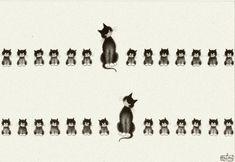 Albert Dubout 'Les chats' 13