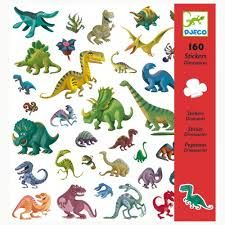 Djeco Dinosaur Stickers, 160 unique nautical dinosaur themed stickers for kids. Available in store at Giddy Goat Toys, Didsbury, Manchester, or on our online store. Sticker Paper, Toddler Toys, Kids Toys, Children's Toys, Moana Bebe, Dinosaur Toys, Dinosaur Gifts, Dinosaur Party, Dinosaurs