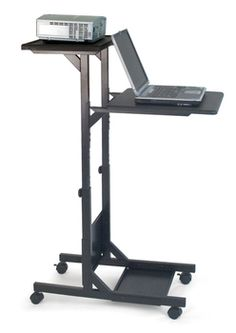 H. Wilson Company - WPS3 Mobile Presentation/Projector Stand