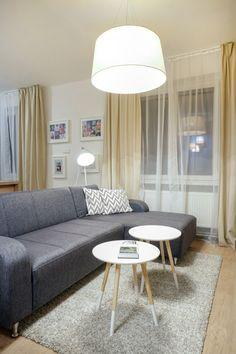 Obývacia izba v škandinávskom štýle